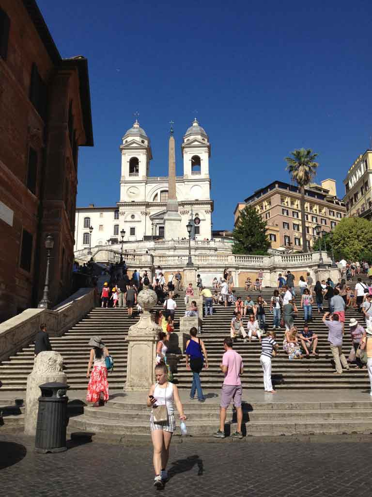 Rom_Spanische Treppe