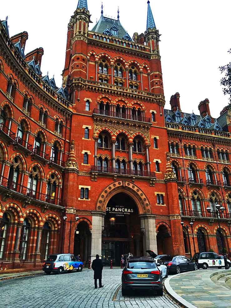 St Pancras Renaissance Hotel in London