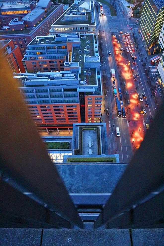 Blick vom Panoramapunkt in Berlin