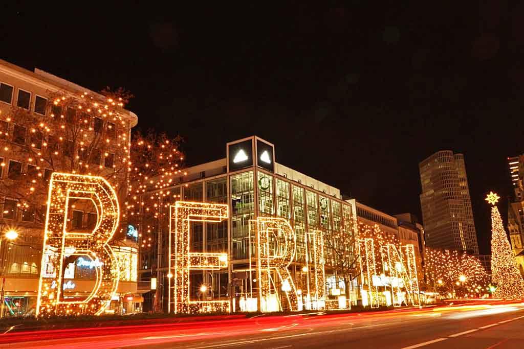 Weihnachtsstimmung am Kudamm Berlin