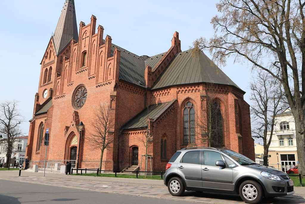 Die Kirche von Warnemünde