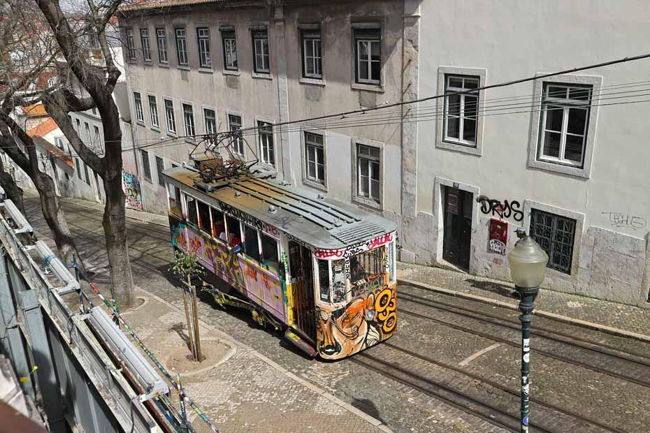 Lissabon Tipps: Ascensor da Glória