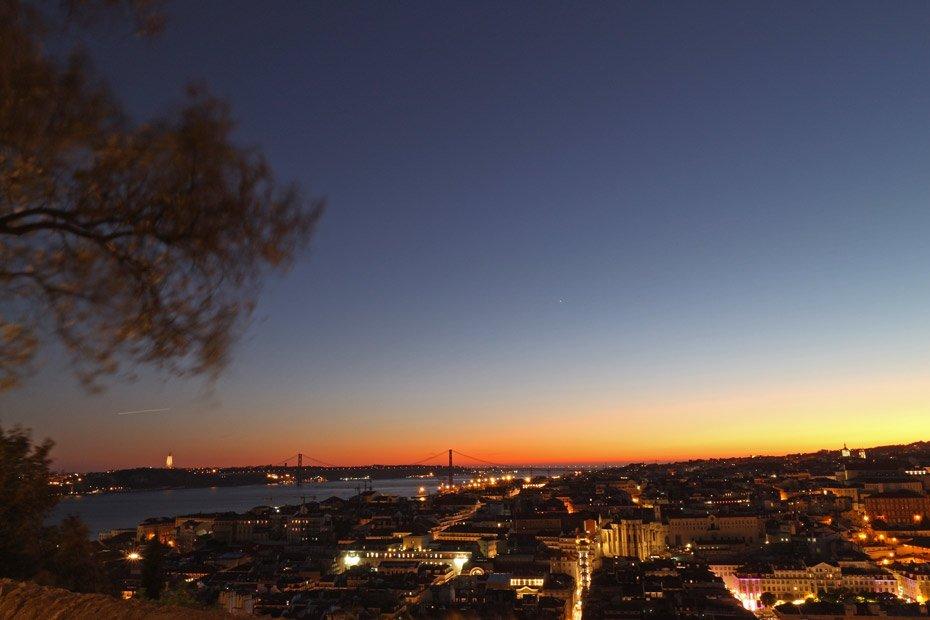 Lissabon Tipps: Blick vom Castelo de Sao Jorge
