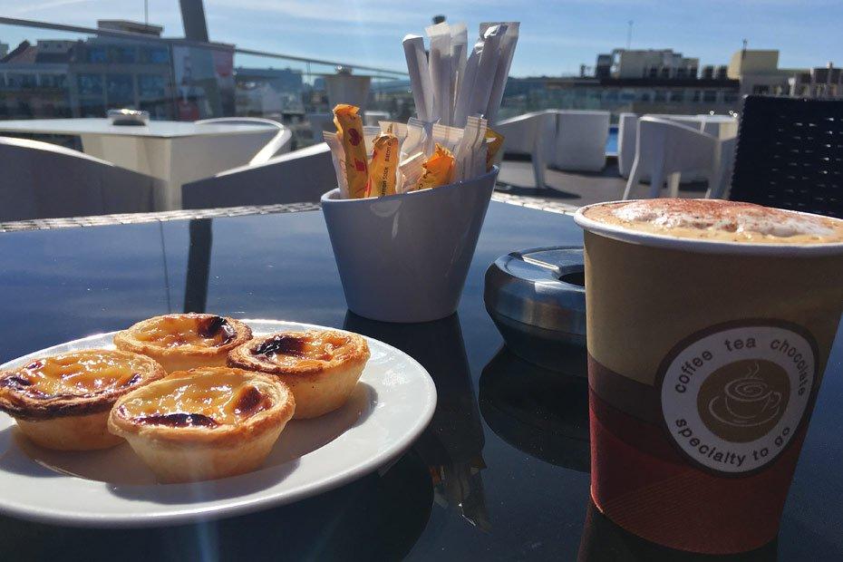 Lissabon Tipps: Dachterrasse auf dem Jupiter Lisboa Hotel
