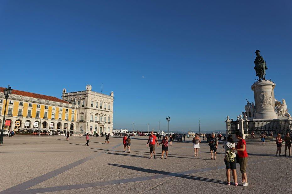 Lissabon Tipps: Praca do Comercio