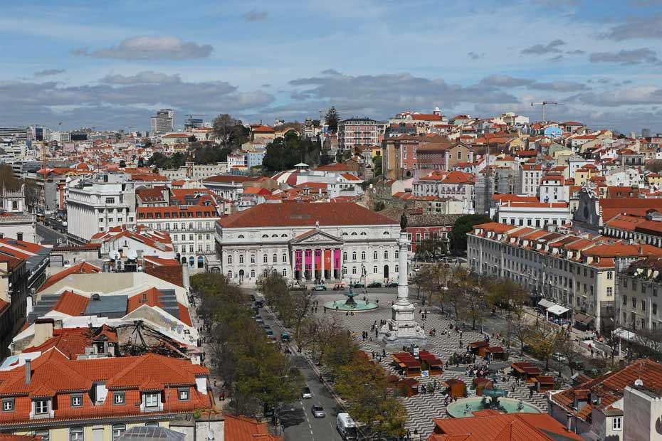 Lissabon Tipps: Praca do Rossio