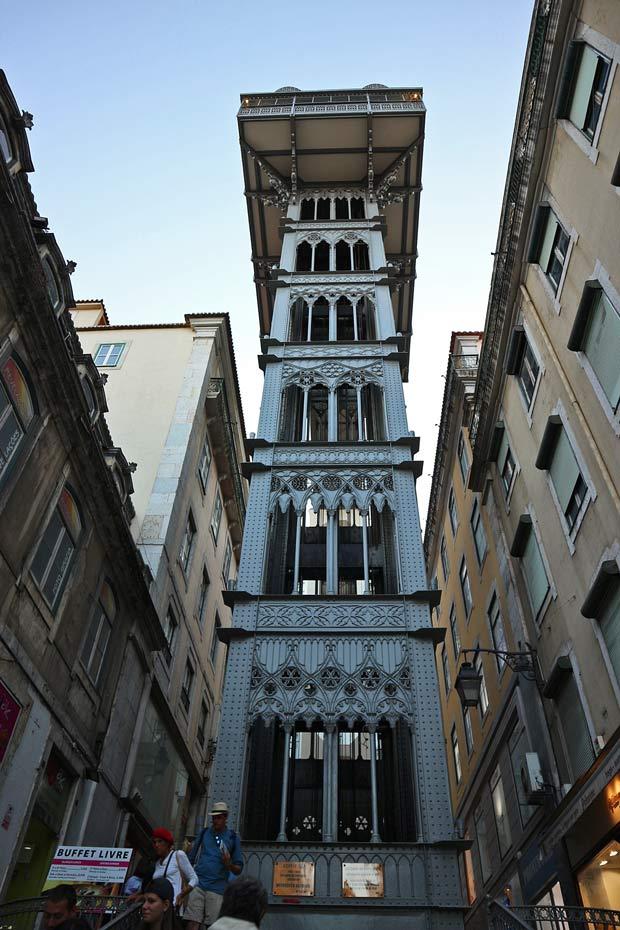 Lissabon Tipps:Santa Justa Lift