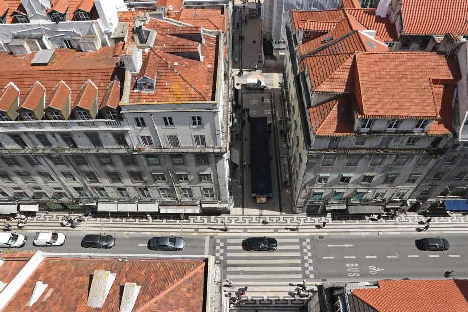 Lissabon Tipps: Aussicht vom Santa Justa Lift