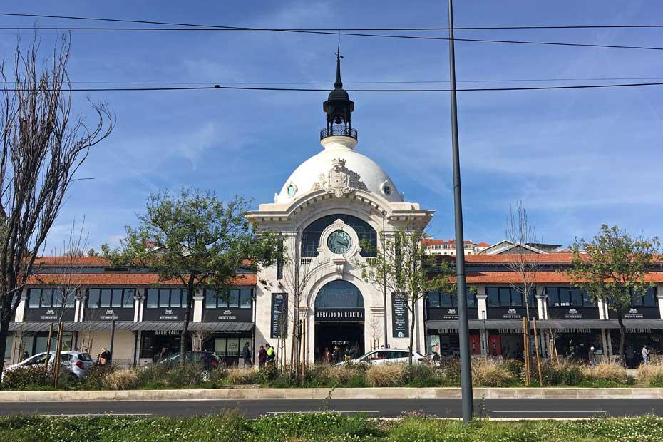 Lissabon Tipps: Time Out Market von außen