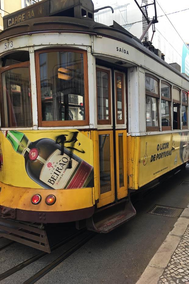 Lissabon Tipps: Tram E28