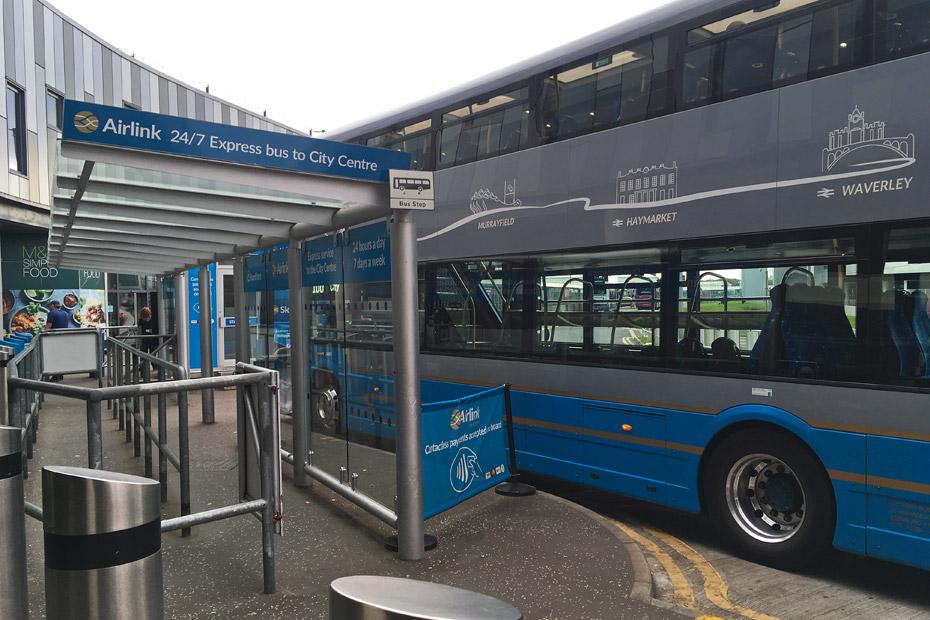Edinburgh Sehenswürdigkeiten Airportbus