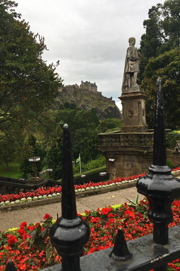 Edinburgh Sehenswürdigkeiten - Princes Gardens