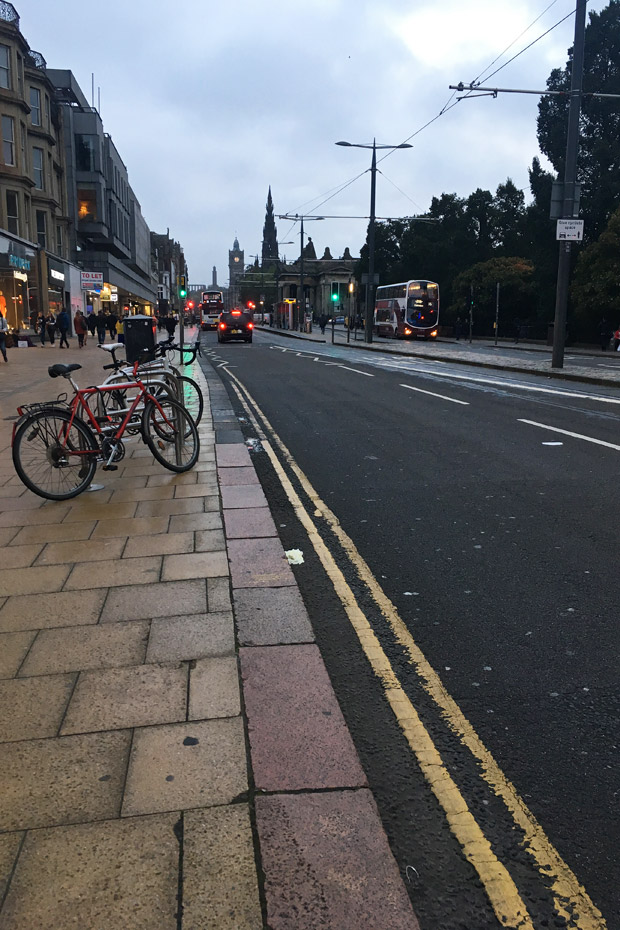 Edinburgh Sehenswürdigkeiten - Princes Street