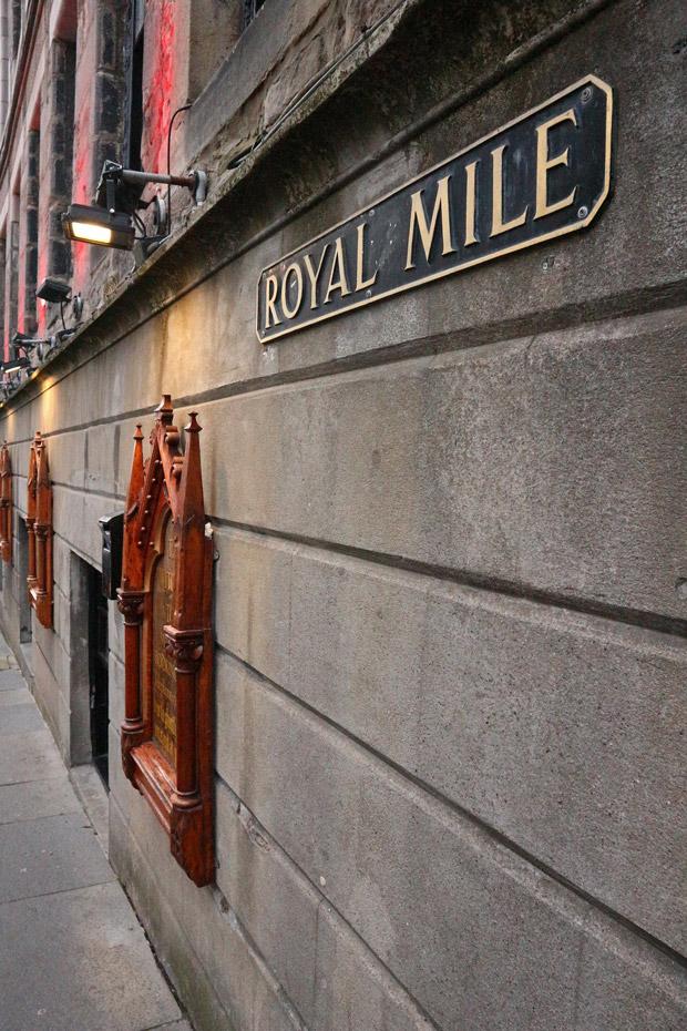 Edinburgh Sehenswürdigkeiten - Royal Mile