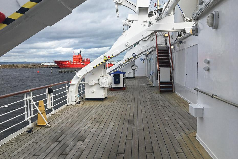 Edinburgh Sehenswürdigkeiten - Royal Yacht Britannia