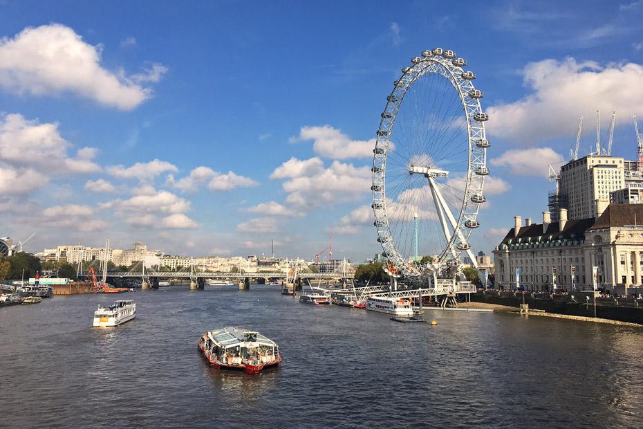 Reiseziele 2019 London