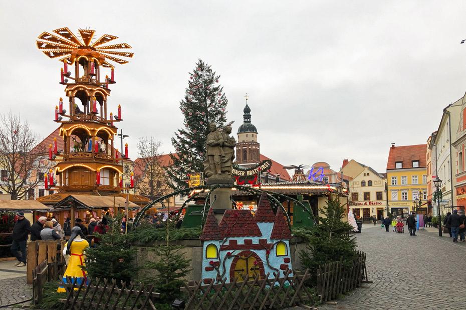 Spreewald Sehenswürdigkeiten - Weihnachtsmarkt Cottbus