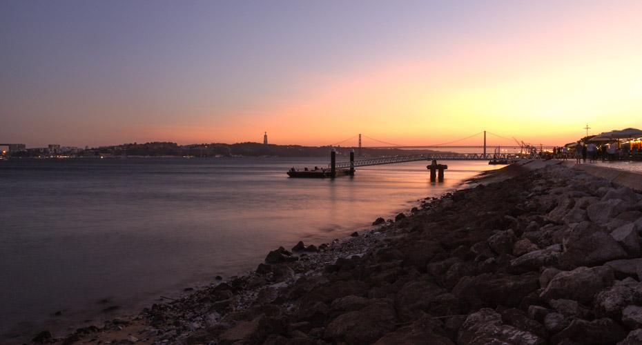Lissabon im Winter