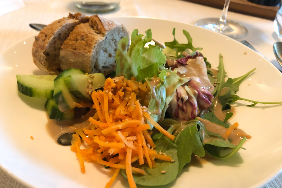Das Abendessen im Hotel My Arbor