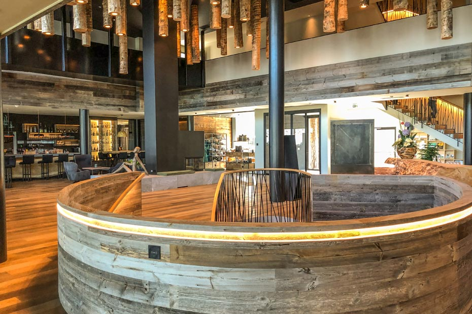 Die Lobby im Hotel My Arbor