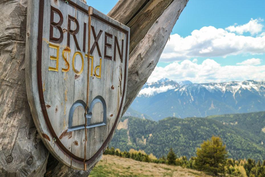 Plose Brixen Schild