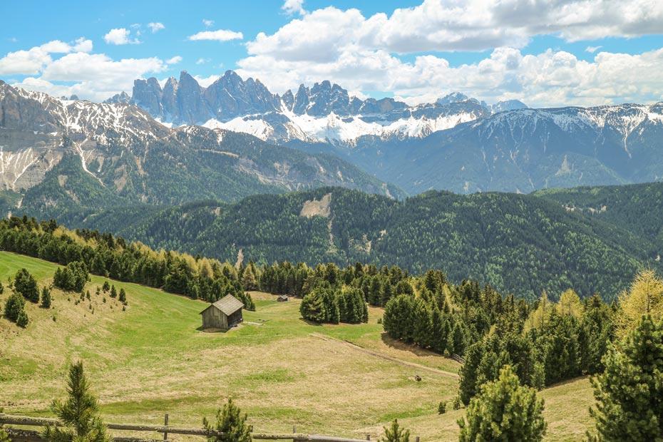auf der Plose in Südtirol