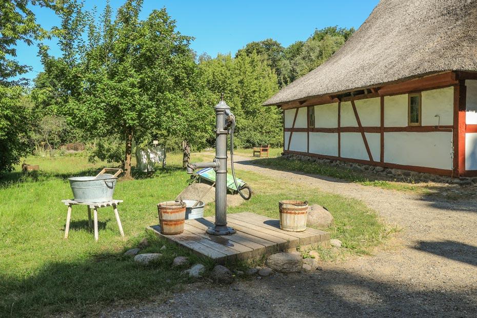 Sehenswürdigkeiten Schwerin: Freilichtmuseum Muess alter Bauernhof
