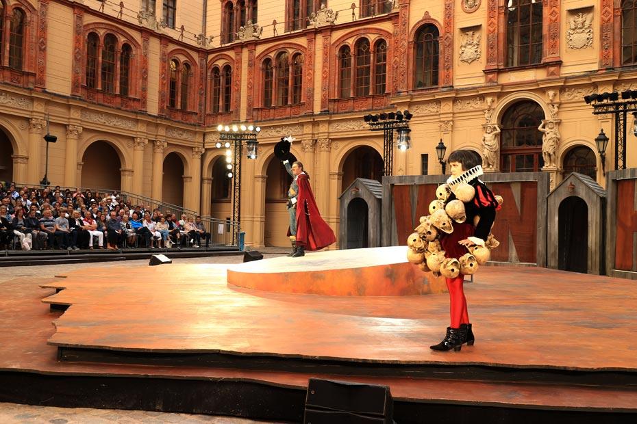 Sehenswürdigkeiten Schwerin: Schlossfestspiele