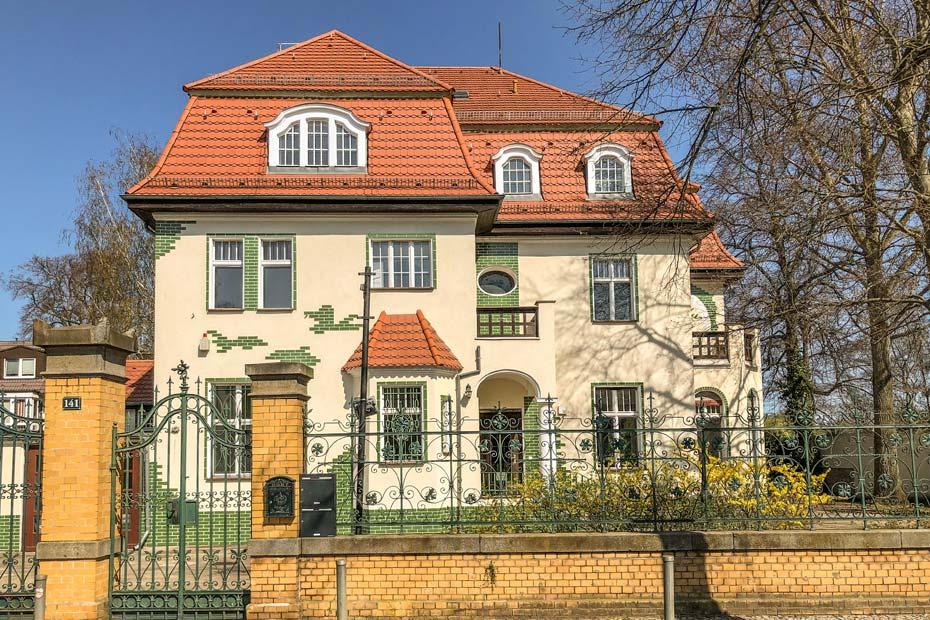 alte Villa an der Regattastraße